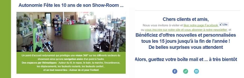 les 10 ans du showroom d'Annoeullin