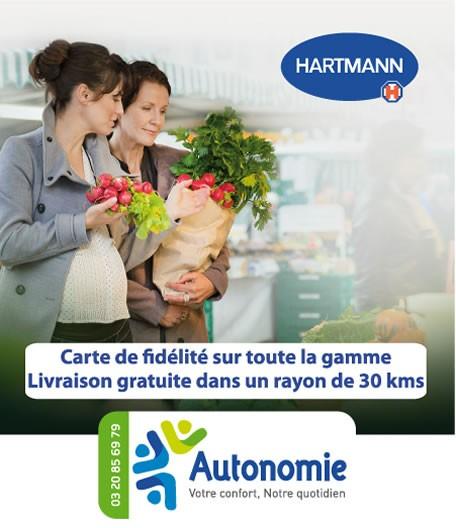 protections contre fuites urinaires Hartmann par Autonomie.fr
