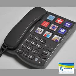 téléphone à larges touches