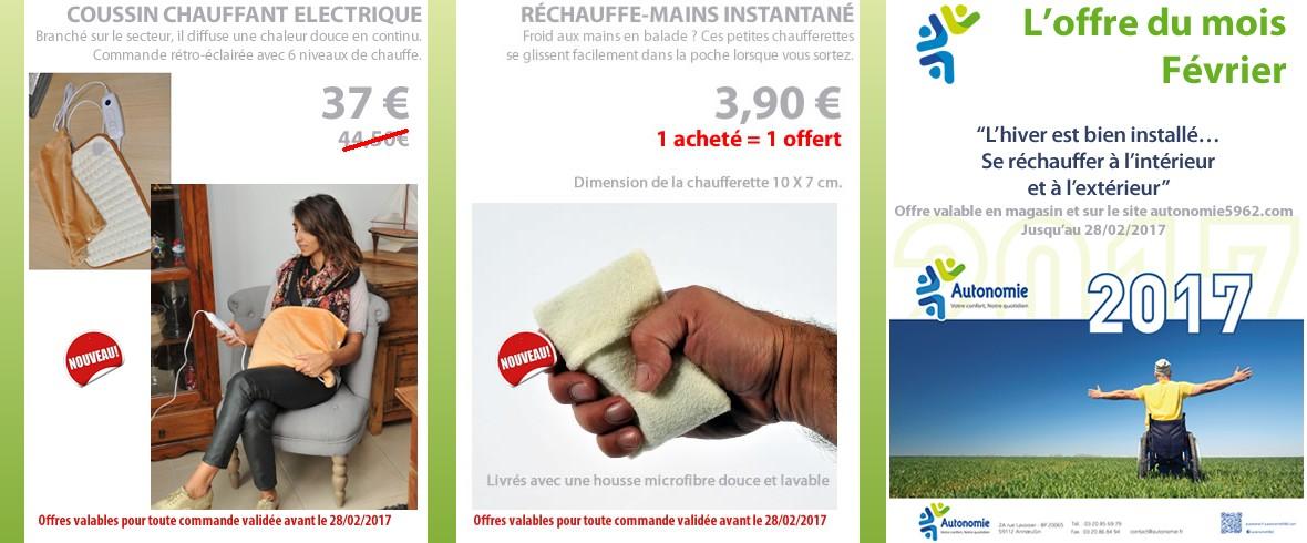 offres février 2017 Autonomie : valables en ligne et au magasin