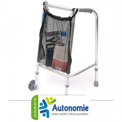 Filet de transport pour rollator